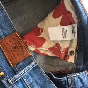 Lucky Brand Jeans - Lucky brand sweet crop size 8